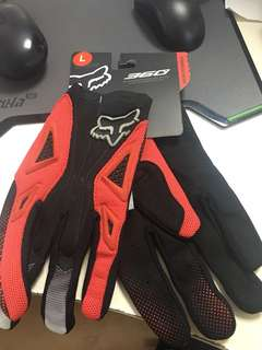 Brand New Fox 360 Gloves
