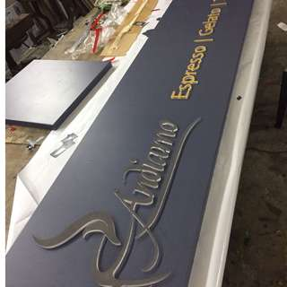 3D Acrylic Sign Board - Indoor and Outdoor - Customise