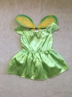 Green Fairy Costume for Toddlers (approx 3yo)