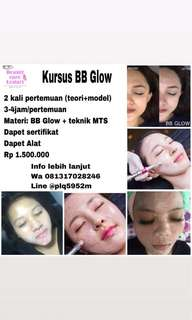Kursus BB Glow MTS Korean