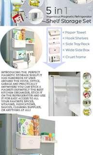 5in1 Shelf Storage Set