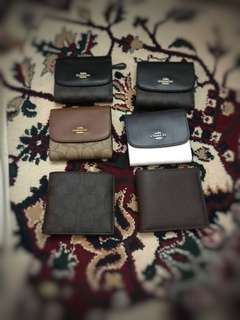 Authentic Coach wallet (small)