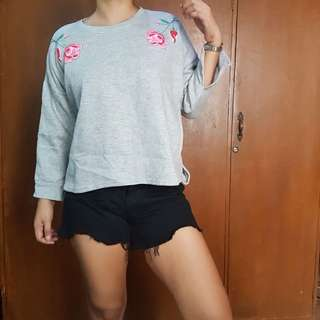 SALE! Gray Sweater pullover