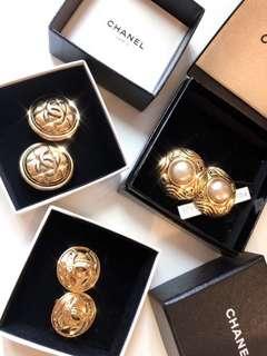 Chanel Vintage 香奈兒古董耳環