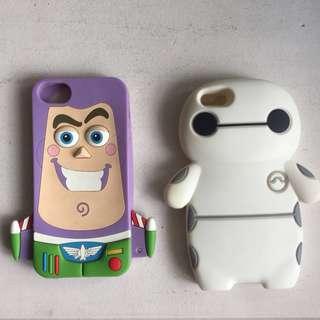 iPhone 5/5s Cartoon Cases (Bundle)