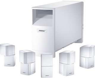 Bose 5.1 Surround 全白色