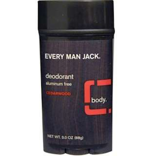 Every Man Jack, Deodorant, Cedarwood, 3.0 oz (88 g)