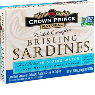 Crown Prince Natural Brisling Sardines 蘇格蘭沙甸魚