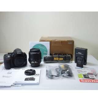 Nikon D5200 (Body +Lens /相機機身+鏡頭)