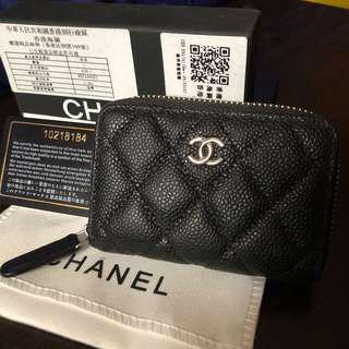 ⚡️Fast Deal! Chanel Caviar Compact card/coin purse/wallet