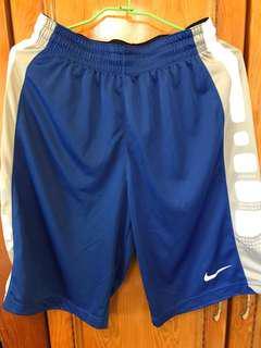 Dry-Fit  Nike 寶藍籃球褲 M