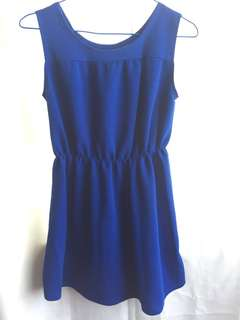 Mini Blue Dress (Preloved)