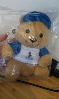 Singapore Airlines teddy bear