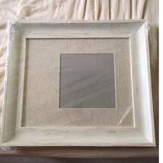 Classic Solid Wood Champagne Wedding Photo Frames x 5 pieces