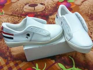 TERMURAH...!!! sneaker putih wanita size 40 KUMIS PRANCIS