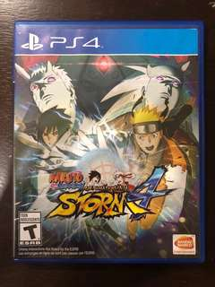 ( USED )Naruto Shippuden Ultimate Ninja Storm 4 PS4