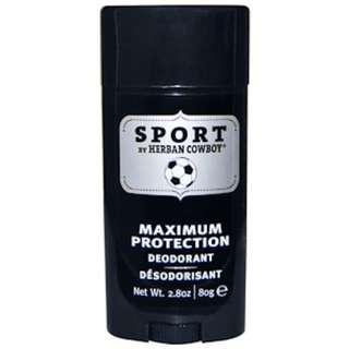 Herban Cowboy, Sport, Maximum Protection Deodorant, 2.8 oz (80 g)