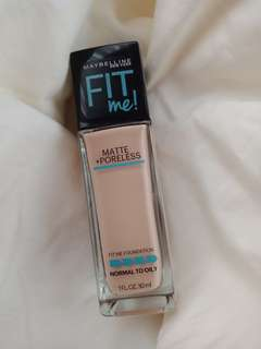 Maybelline Fit me! Shade: Nude Beige 125