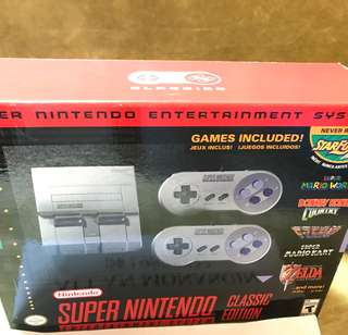 SNES Classic Super Nintendo Entertainment System