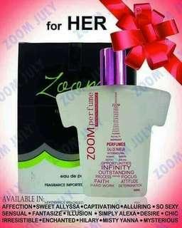 """Zoom International Perfumes"""