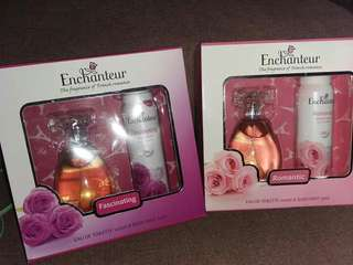 Enchanteur perfume & bodymist set