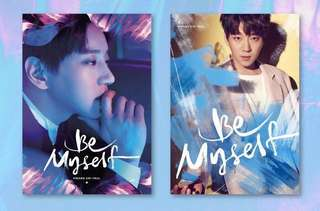 HWANG CHI YEUL - BE MYSELF (2ND MINI ALBUM) A/B VERSION