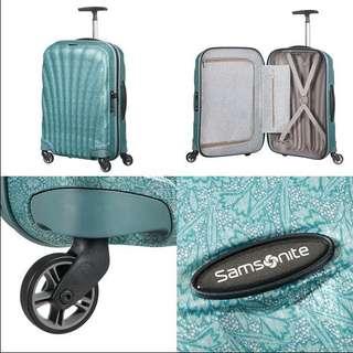 Samsonite universal wheel bar box fashion suitcase 25 inch