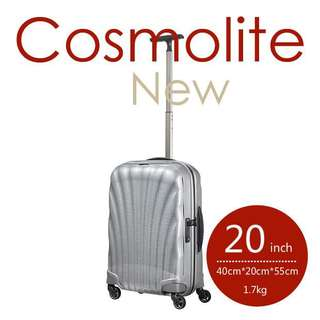 Samsonite universal wheel rod box light suitcase 20 inch