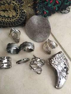 Silver Rings Pack
