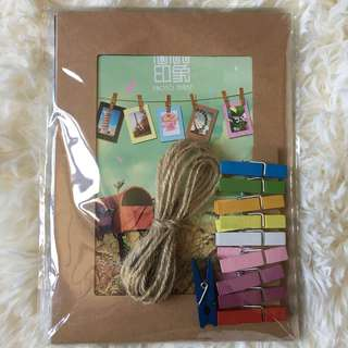 Clothesline Photo Frame