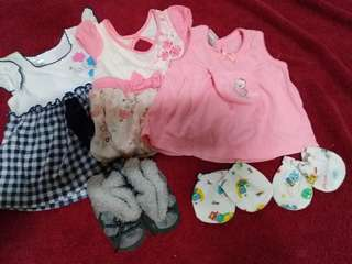 Baby clothes boots take all