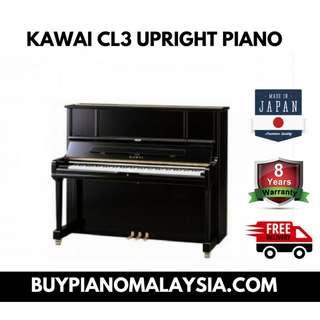 kawai cl3 upright piano