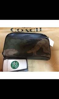 Coach Men's Overnight Travel Kit In Signature Camo