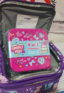 SALE SMIGGLE Lunchbag Set