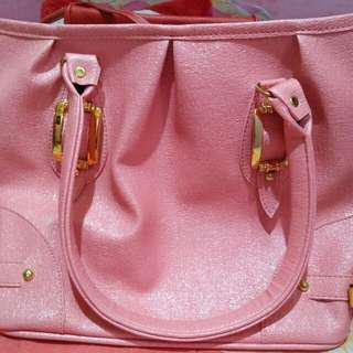 Tas Gliter Pink