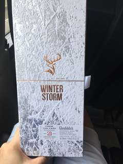Glenfiddich winter storm batch 2 limited edition 0.7L whisky single malt 21 YO