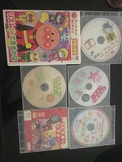 Famous Japanese Enrichment kids DVDs (2.5 sgd per DVD)