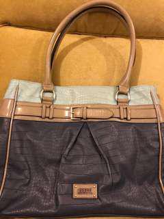 Guess Handbag (FREE Guess wallet) one set