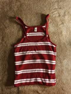 Striped Sleeveless Tunic