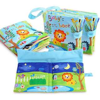 🚚 Baby first book washable soft Cloth fabric Book