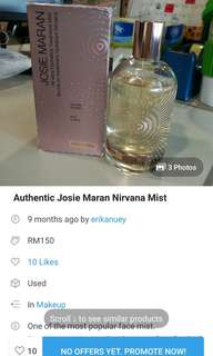 Josie Maran Nirvana Spray