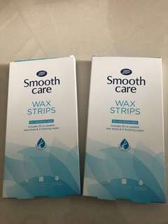 WAX STRIPS Hair removal for sensitive skin Brand new Boots