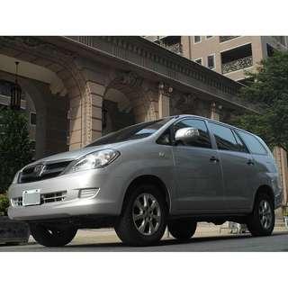 <小馬愛車> 2012 Toyota Innova 2.0 銀