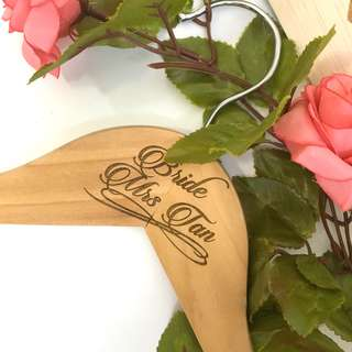 Personalized Hanger Wedding
