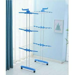 3 Tier Foldable Clothes Drying Rack