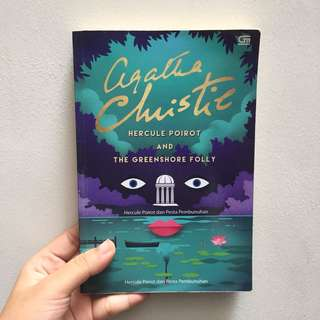 Hercule Poirot and The Greenshore Folly - Agatha Christie (IND)