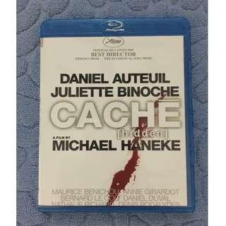 🚚 Caché (Aka: Hidden) (2005) Blu-ray Disc French Psychological Thriller Film