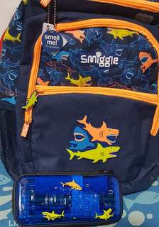 SALE SMIGGLE BACKPACK & PENCILCASE