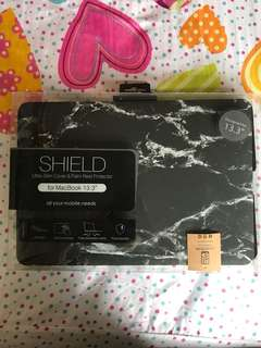"marble macbook 13.3"" protector cover"
