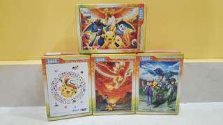 Pokemon puzzle - set of 4